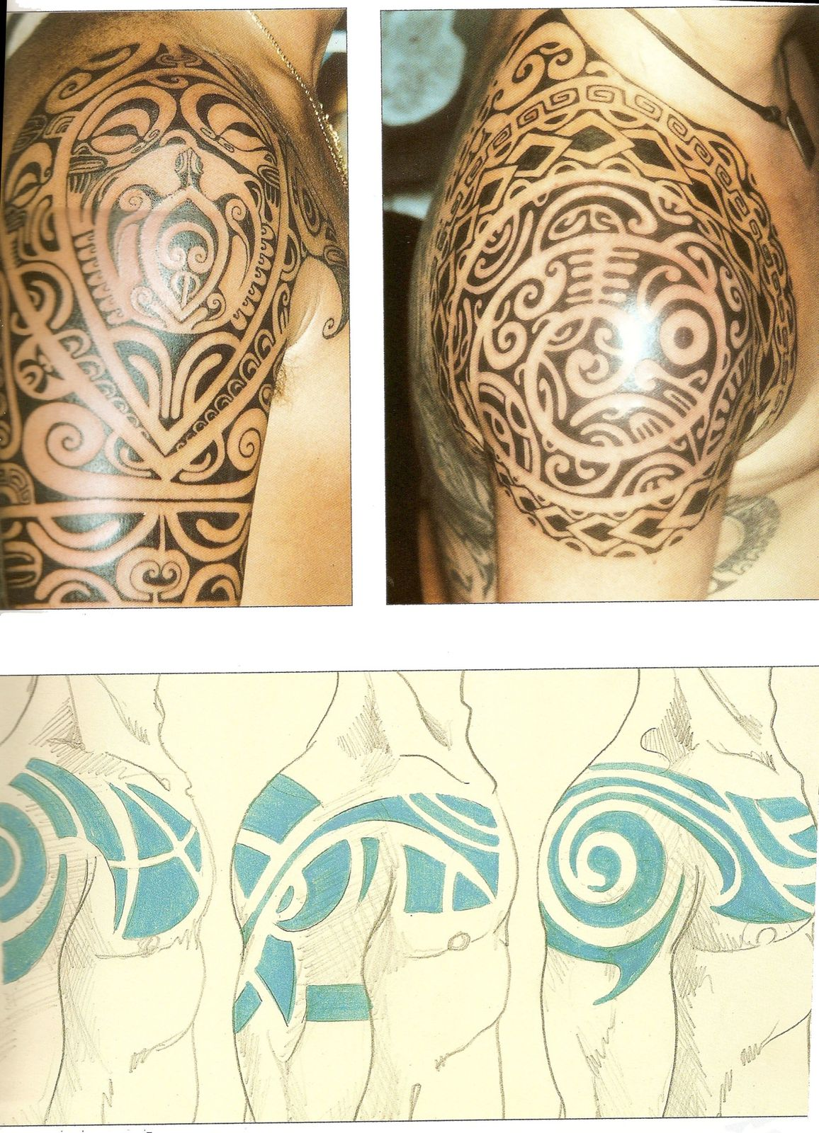 tatouage tribal. Tatouage Epaule Tribal