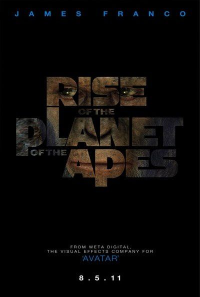affiche rise of the planet of the apes