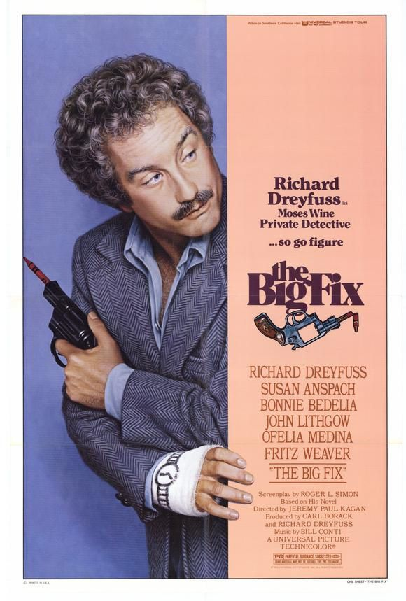 The Big Fix affiche